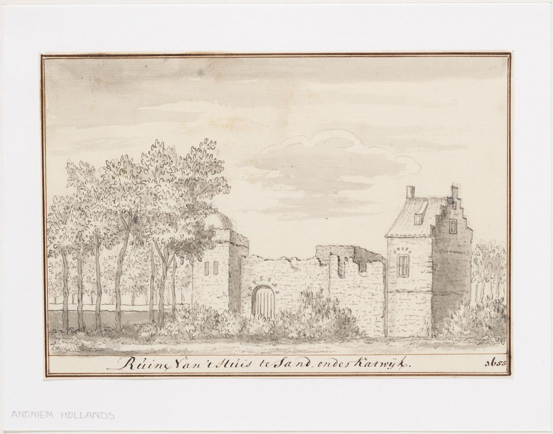 Beleg van Leiden maakt kasteel tot ruïne